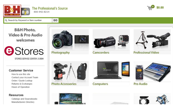 B&H Photo New Quote Link | NewsLink