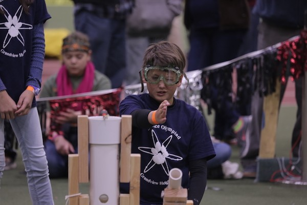 a young scientist prepares to compete