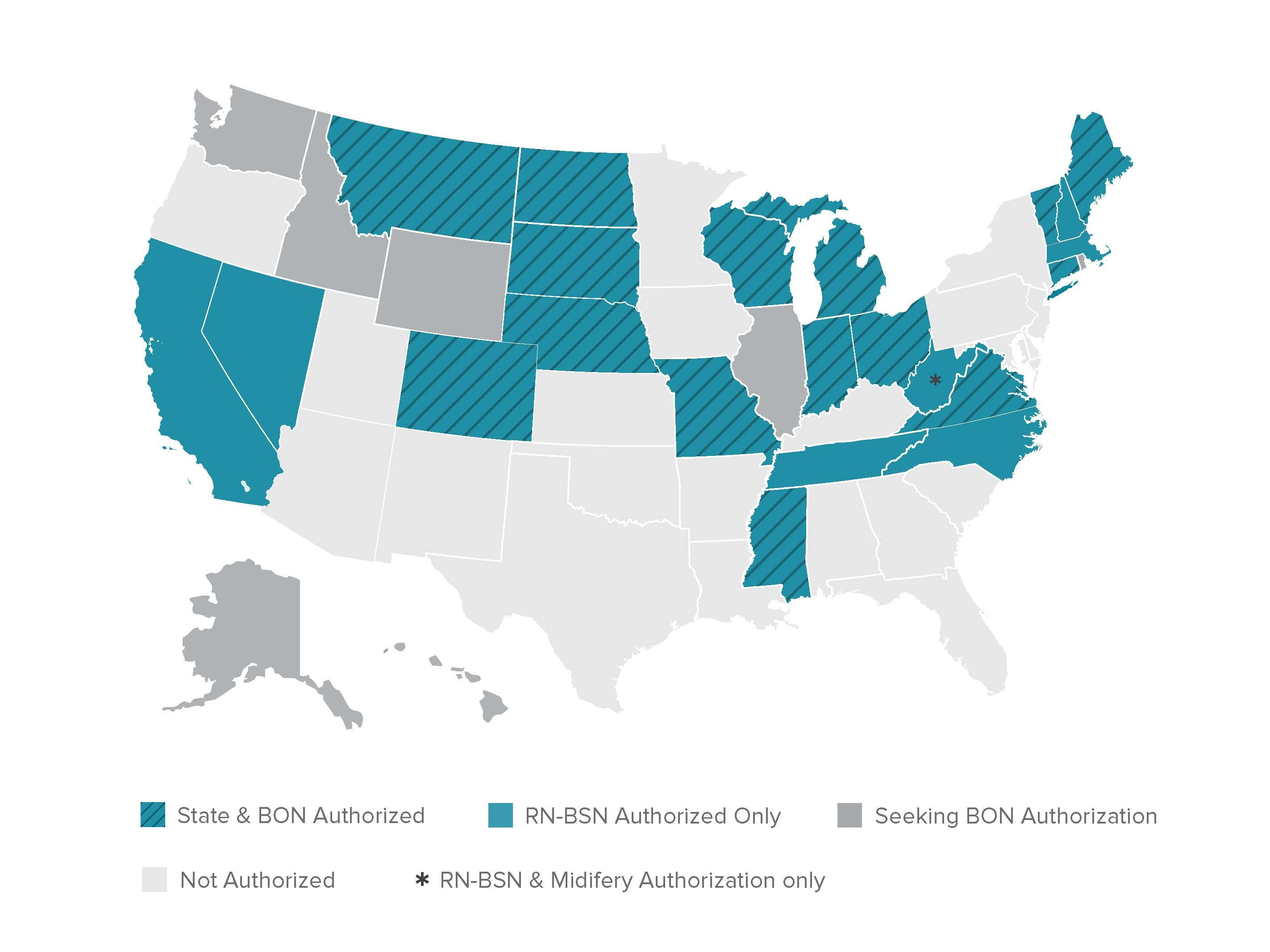 Online Nursing State Authorization Approvals