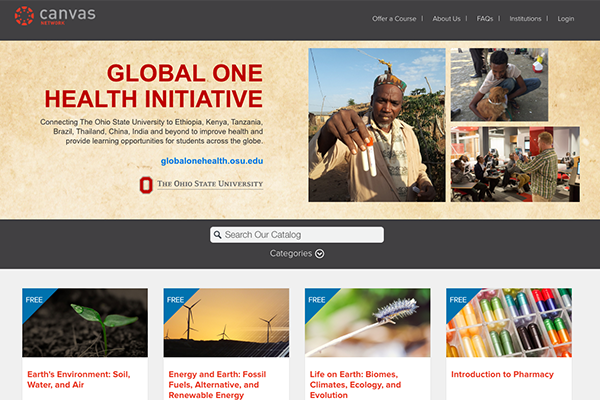 Global One Health Initiative Expands with Launch of Canvas Course