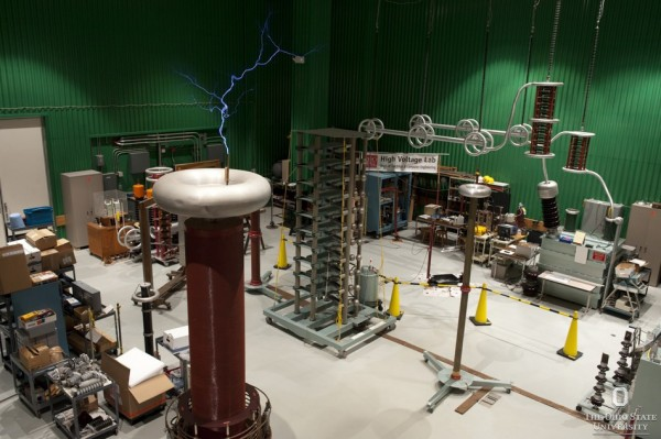Ohio State's High Voltage and Power Electronics Laboratory