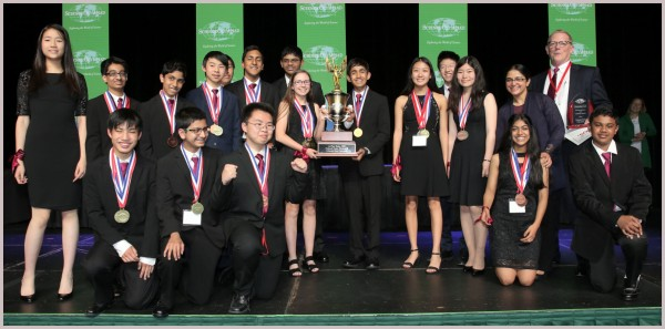 2018 Science Olympiad National Championship Team Photo
