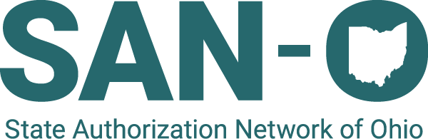 State Authorization Network of Ohio Logo